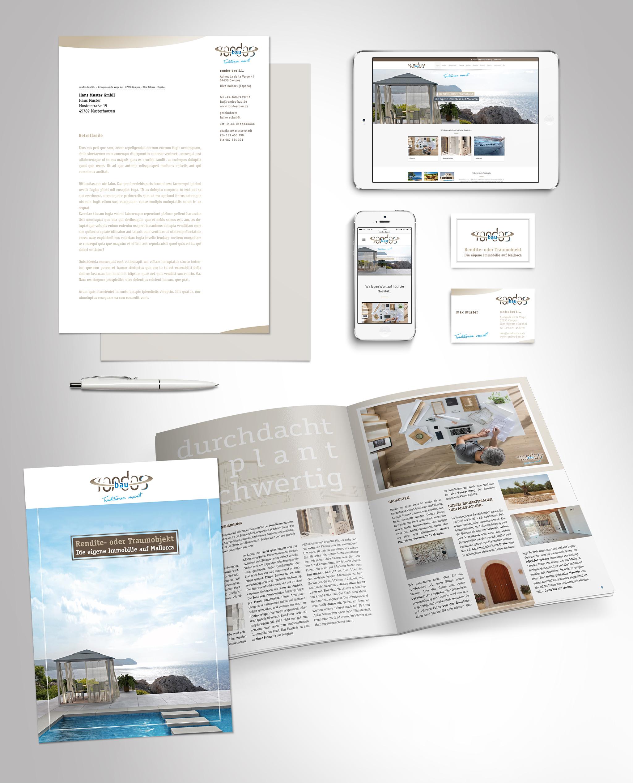 rondos-bau – Corporate Design