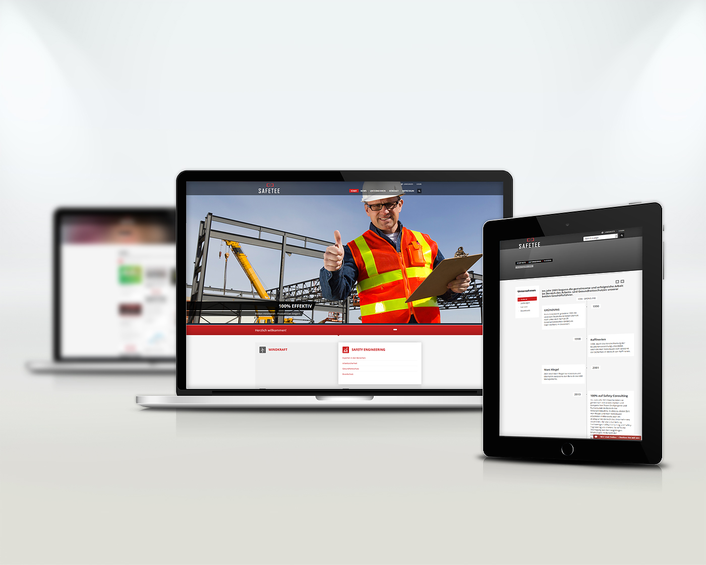 SAFETEE - Responsive Webdesign